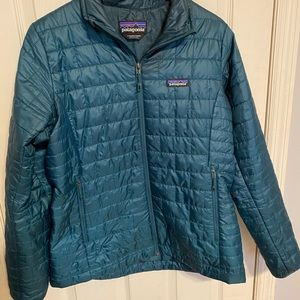 Women's Patagonia Nano Puff Large Green